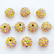 Premium-Czech-Crystal-Rhinestones-AB-Color-Pave-Clay-Round-Disco-Ball-Beads-10mm-371836140033-f94f