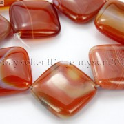 Red-Carnelian-Natural-Agate-Gemstone-Diagonal-Square-Loose-Beads-15-Strand-281162972188-5