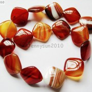 Red-Carnelian-Natural-Agate-Gemstone-Diagonal-Square-Loose-Beads-15039039-Strand-281162972188-e014