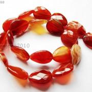 Red-Carnelian-Natural-Agate-Gemstone-Faceted-Flat-Teardrop-Loose-Beads-15039039-261280385485-44da