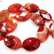 Red-Carnelian-Natural-Agate-Gemstone-Faceted-Oval-Loose-Beads-15039039-Inches-Strand-261278842495-2646