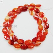Red-Carnelian-Natural-Agate-Gemstone-Faceted-Oval-Loose-Beads-15039039-Inches-Strand-261278842495-d219