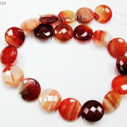Red-Carnelian-Natural-Agate-Gemstone-Faceted-Round-Coin-Loose-Beads-15039039-Strand-370889122039-2905