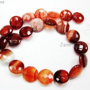 Red-Carnelian-Natural-Agate-Gemstone-Faceted-Round-Coin-Loose-Beads-15039039-Strand-370889122039-708e