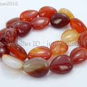 Red-Carnelian-Natural-Agate-Gemstone-Flat-Teardrop-Loose-Beads-15039039-Strand-261280412094-4f65