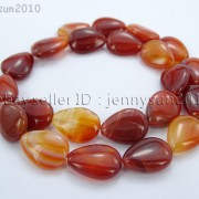 Red-Carnelian-Natural-Agate-Gemstone-Flat-Teardrop-Loose-Beads-15039039-Strand-261280412094-e95b