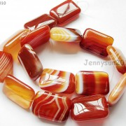 Red-Carnelian-Natural-Agate-Gemstone-Rectangular-Loose-Beads-15039039-Inches-Strand-281161813471-28d6