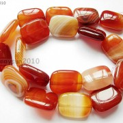 Red-Carnelian-Natural-Agate-Gemstone-Rectangular-Loose-Beads-15039039-Inches-Strand-281161813471-c372