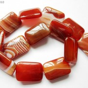 Red-Carnelian-Natural-Agate-Gemstone-Rectangular-Loose-Beads-15039039-Inches-Strand-281161813471-f02b