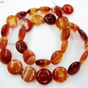 Red-Carnelian-Natural-Agate-Gemstone-Round-Coin-Loose-Beads-15039039-Inches-Strand-281162983034-3ac4