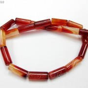Red-Carnelian-Natural-Agate-Gemstone-Tube-Beads-155039039-4mm-x-13mm-8mm-x-20mm-370882357866-570e
