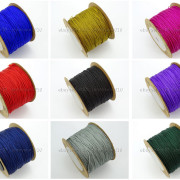 Satin-Silk-Braid-Rattail-Cord-Knotting-Thread-Rope-Beading-Jewelry-Design-Crafts-282081387476-2