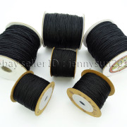 Satin-Silk-Braid-Rattail-Cord-Knotting-Thread-Rope-Beading-Jewelry-Design-Crafts-282081387476-5