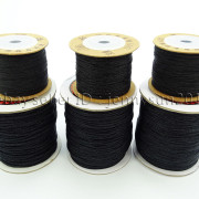 Satin-Silk-Braid-Rattail-Cord-Knotting-Thread-Rope-Beading-Jewelry-Design-Crafts-282081387476-6
