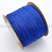 Satin-Silk-Braid-Rattail-Cord-Knotting-Thread-Rope-Beading-Jewelry-Design-Crafts-282081387476-622f