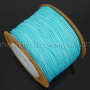 Satin-Silk-Braid-Rattail-Cord-Knotting-Thread-Rope-Beading-Jewelry-Design-Crafts-282081387476-c014