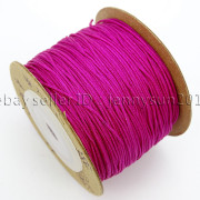 Satin-Silk-Braid-Rattail-Cord-Knotting-Thread-Rope-Beading-Jewelry-Design-Crafts-282081387476-d2d1