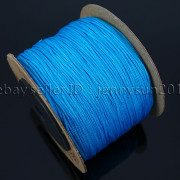 Satin-Silk-Braid-Rattail-Cord-Knotting-Thread-Rope-Beading-Jewelry-Design-Crafts-282081387476-d599