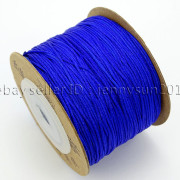Satin-Silk-Braid-Rattail-Cord-Knotting-Thread-Rope-Beading-Jewelry-Design-Crafts-282081387476-e107