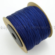 Satin-Silk-Braid-Rattail-Cord-Knotting-Thread-Rope-Beading-Jewelry-Design-Crafts-282081387476-edcb
