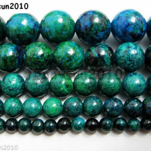Synthetic-Chrysocolla-Gemstone-Round-Loose-Beads-16-4mm-6mm-8mm-10mm-12mm-251106948790