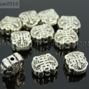 Tibetan-Silver-Connector-Metal-Spacer-Charm-Beads-Jewelry-Design-Findings-Crafts-371492141803-253b