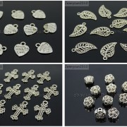 Tibetan-Silver-Connector-Metal-Spacer-Charm-Beads-Jewelry-Design-Findings-Crafts-371492141803-3