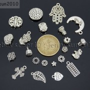 Tibetan-Silver-Connector-Metal-Spacer-Charm-Beads-Jewelry-Design-Findings-Crafts-371492141803-4