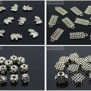 Tibetan-Silver-Connector-Metal-Spacer-Charm-Beads-Jewelry-Design-Findings-Crafts-371492141803-5