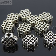Tibetan-Silver-Connector-Metal-Spacer-Charm-Beads-Jewelry-Design-Findings-Crafts-371492141803-68ad