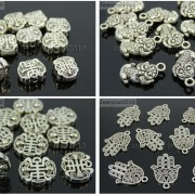 Tibetan-Silver-Connector-Metal-Spacer-Charm-Beads-Jewelry-Design-Findings-Crafts-371492141803-7