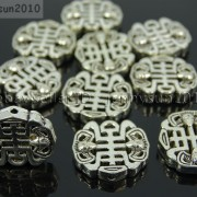 Tibetan-Silver-Connector-Metal-Spacer-Charm-Beads-Jewelry-Design-Findings-Crafts-371492141803-8359