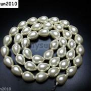 Top-Quality-Czech-Glass-Pearl-Pear-Teardrop-Loose-Beads-155039039-White-Cream-Black-261124932854-8200