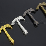 Vintage-Antique-Solid-Metal-Axe-Chopper-Bracelet-Connector-Pendant-Charm-Beads-262893505170