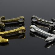 Vintage-Antique-Solid-Metal-Axe-Chopper-Bracelet-Connector-Pendant-Charm-Beads-262893505170-4