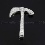 Vintage-Antique-Solid-Metal-Axe-Chopper-Bracelet-Connector-Pendant-Charm-Beads-262893505170-976d