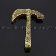 Vintage-Antique-Solid-Metal-Axe-Chopper-Bracelet-Connector-Pendant-Charm-Beads-262893505170-af9e