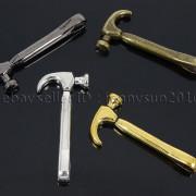Vintage-Antique-Solid-Metal-Hammer-Sinker-Bracelet-Connector-Pendant-Charm-Beads-262896091312-6