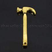 Vintage-Antique-Solid-Metal-Hammer-Sinker-Bracelet-Connector-Pendant-Charm-Beads-262896091312-aaa4