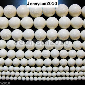 White-Natural-Coral-Gemstone-Round-Beads-155-6mm-8mm-10mm-12mm-14mm-16mm-18mm-261177902819