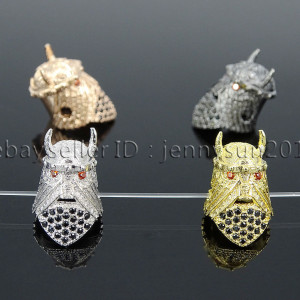 Zircon-Gemstones-Pave-Gladiator-Helmets-Masks-Bracelet-Connector-Charm-Beads-282145851490
