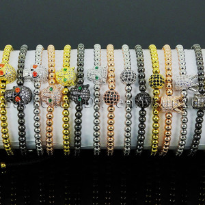 Zircon-Rhinestone-Adjustable-Macrame-Yoga-Bracelet-18K-Silver-Gold-Plated-Unisex-262486615221